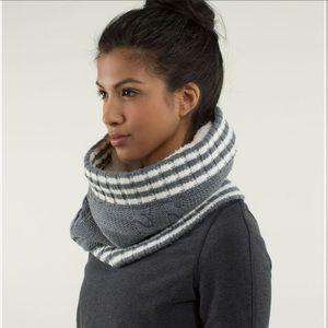 Lululemon Keepin It Real Cozy Neck Warmer in Grey
